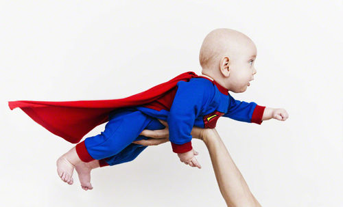 baby superman costume