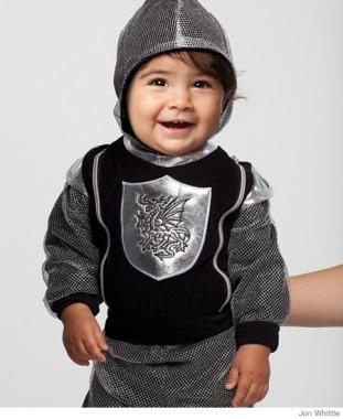 little knight in shining armor