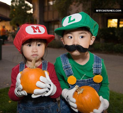 Super Mario costumes