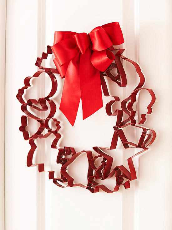 Cootie Shapes Wreath