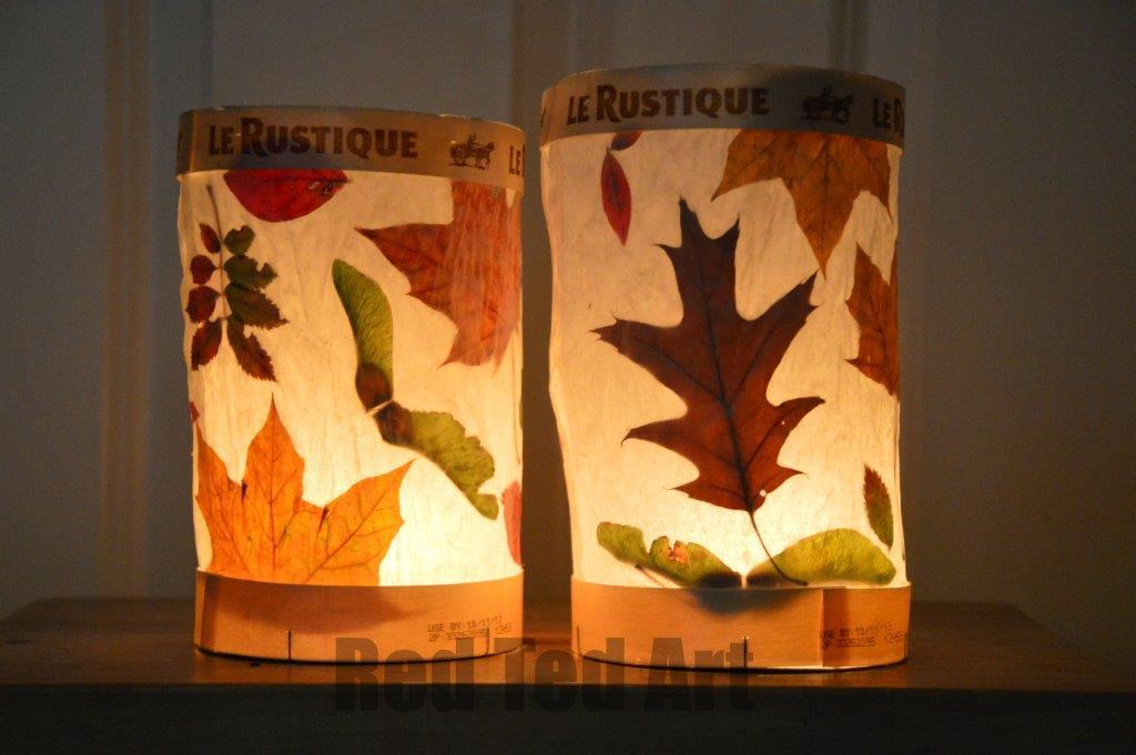 Leaf Lanterns