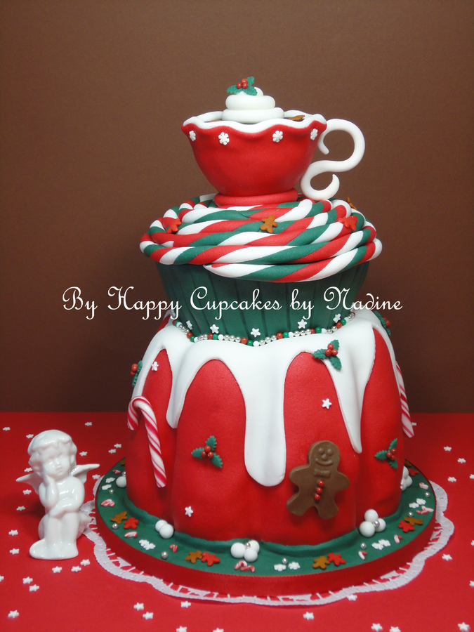 Bundt Cupcake and Tea Cup