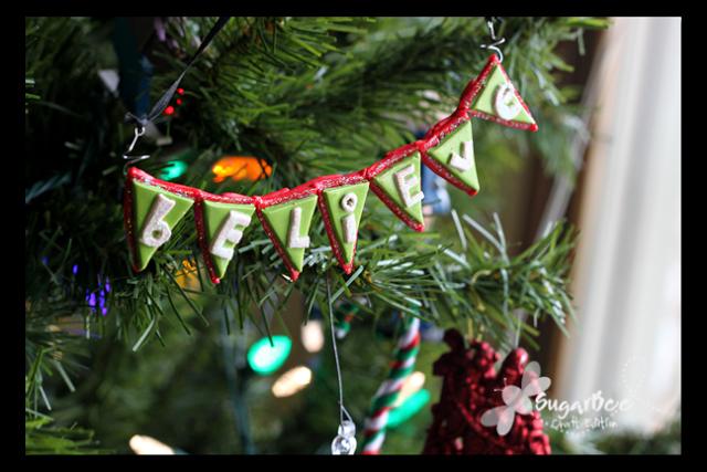 Bunting Ornament
