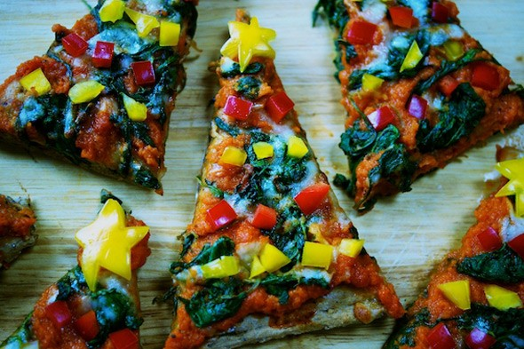 Christmas Tree Pizzas