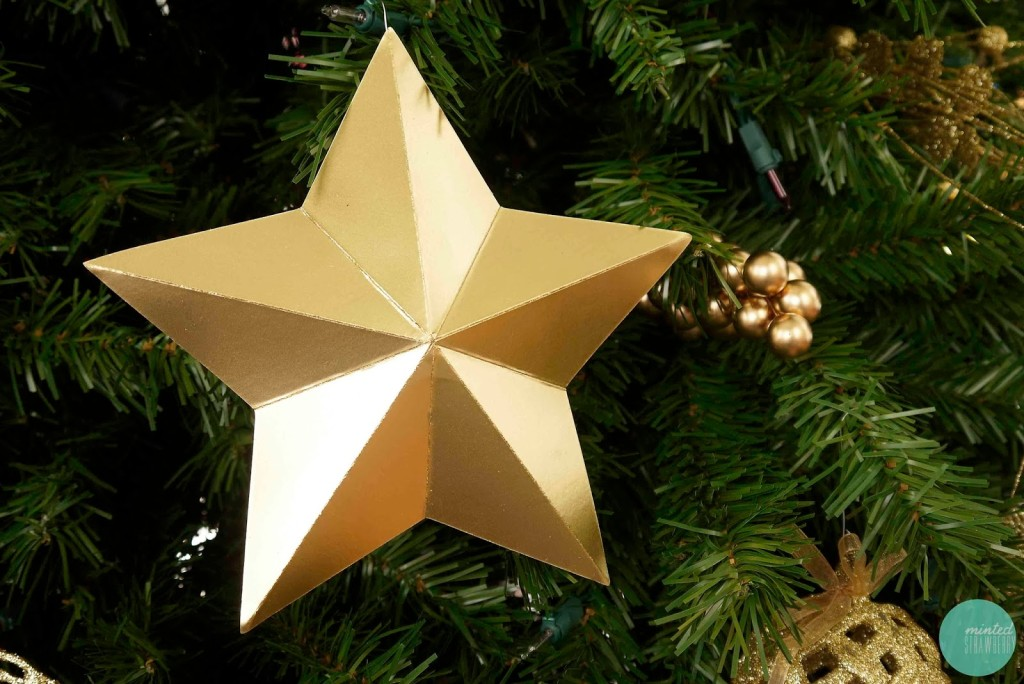 Cradboard Star Ornament