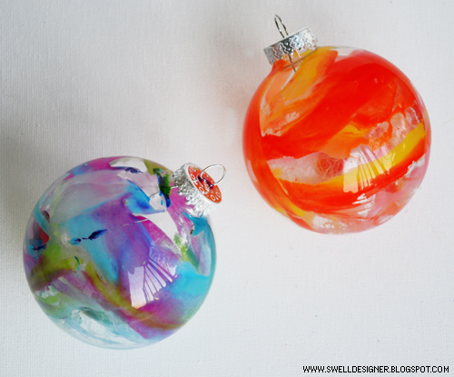 Crayon Melt Ornaments
