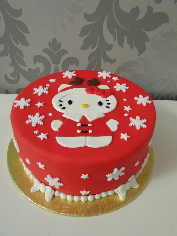 Festive Hello Kitty