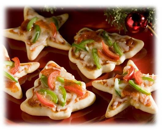 Festive Mini Pizzas