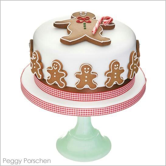 Gingerbreadman Cake