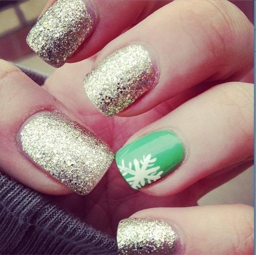 Glitter and Green