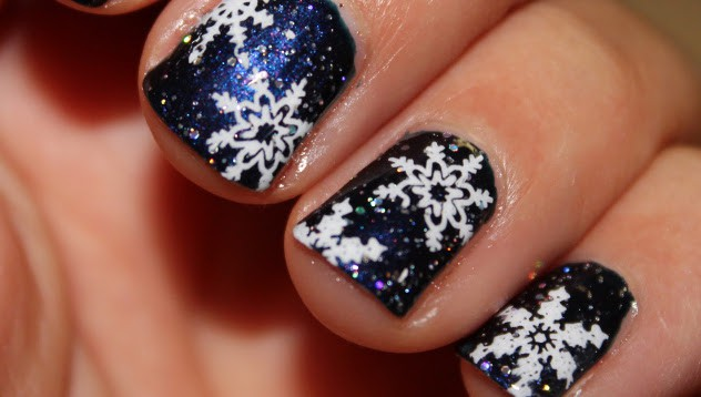 Glitter and Snowflakes