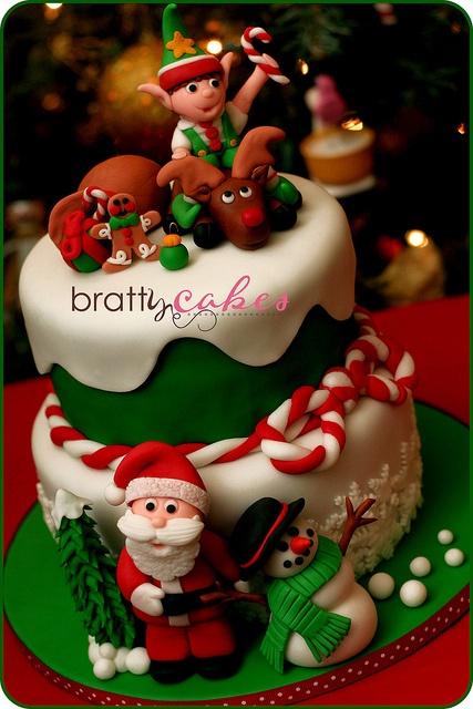 North Pole Cake