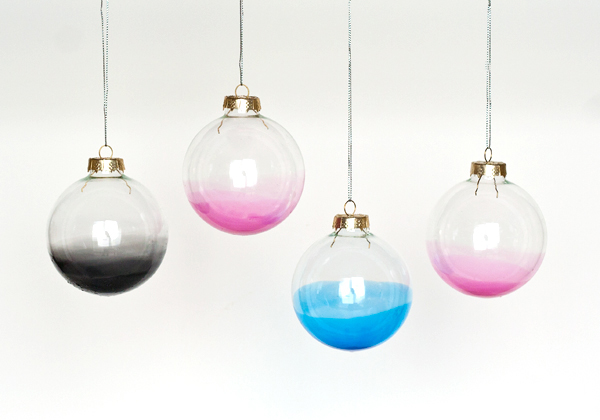 Ombre Ornaments