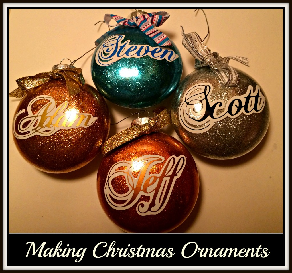 Personalized Baubles