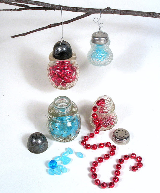 Salt and Pepper Shaker Ornaments