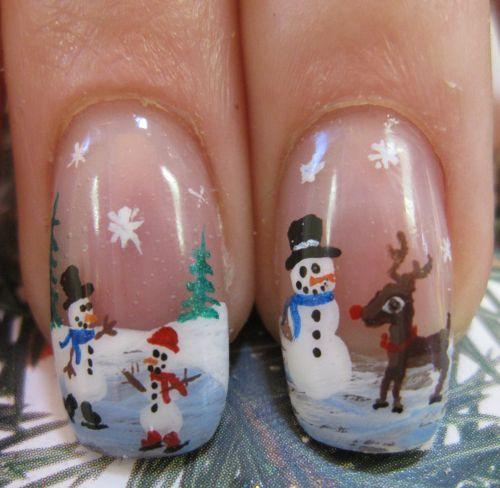 Snowmen and Rudolf