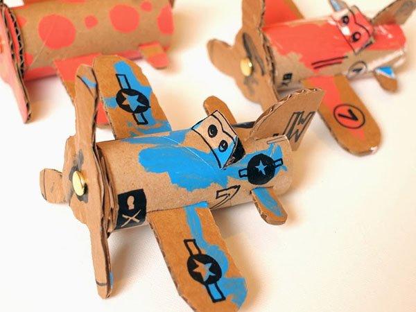Cardboard Toilet Roll Planes