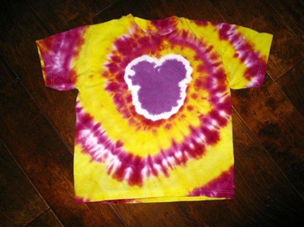 Mickey Tie Dye Shirts