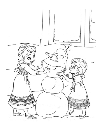 multi-character-6-frozen-colouring-pages