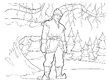 kristoff2-frozen-colouring-pages