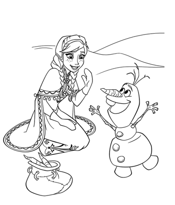 multi-character-3-frozen-colouring-pages