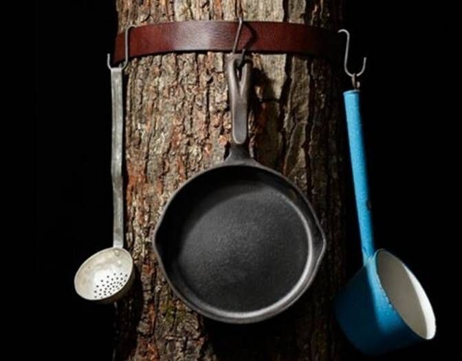 camping tree belt
