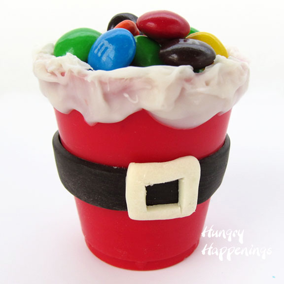 Santa Suit Chocolate Cup